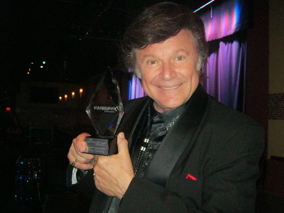 Bobby Curtola and the Cashbox Canada Legacy Award 2015